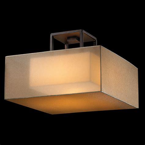 square ceiling light quadralli square semi flush ceiling light by ls 330740