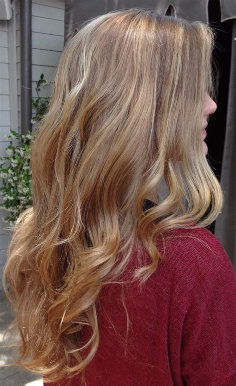 blonde hair with highlights blonde balayage highlights neil george