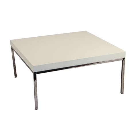 Chrome Leg Coffee Table White Coffee Table With Chrome Legs Corvallis Productions