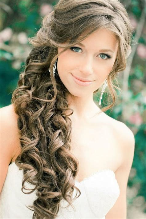 Wedding Hair With Curls by Wedding Hairstyles Curls For Hair
