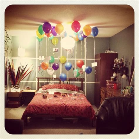 how to surprise him in bed birthday surprise for the boyfriend done that