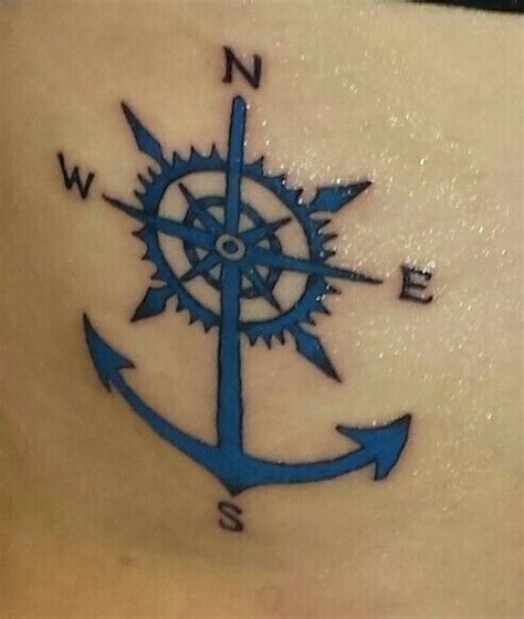 compass tattoo with anchor the 25 best anchor compass tattoo ideas on pinterest
