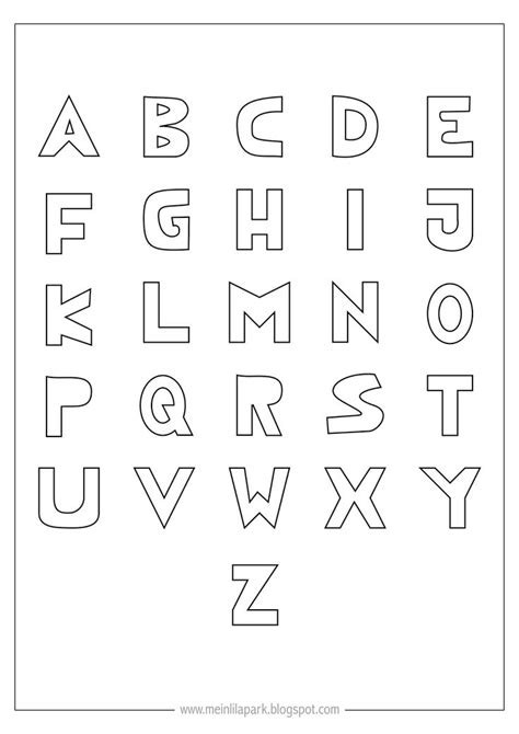 Printable Hollow Alphabet Letters | 17 best images about hollow letter topography on pinterest