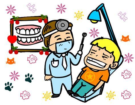imagenes animadas odontologo dibujo de el malvado dentista pintado por rockerita en