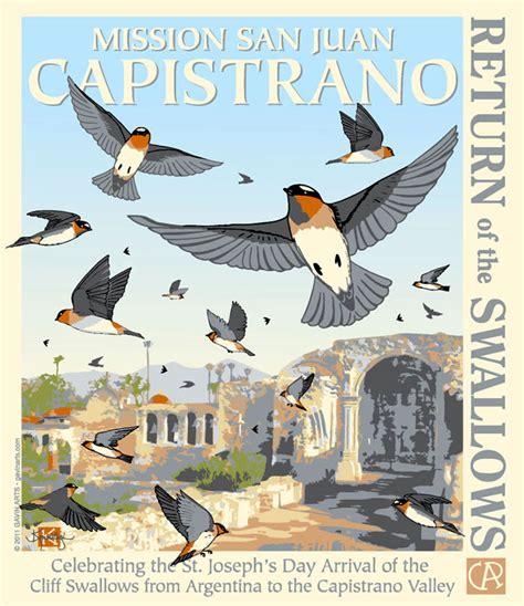 return of the swallows design 15 gavin fine art design
