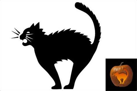 44 spooky cat pumpkin stencils you ll love carving this