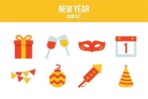 new year icon free new year and graphics a glorious collection