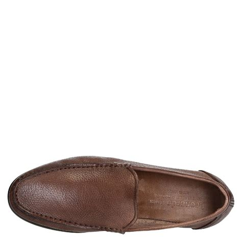 leather loafers for grain leather loafers for leonardo