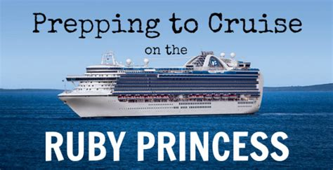Cruise Wed In Los Angeles Last Week by Prepping To Cruise On The Ruby Princess The Littlest Fowler