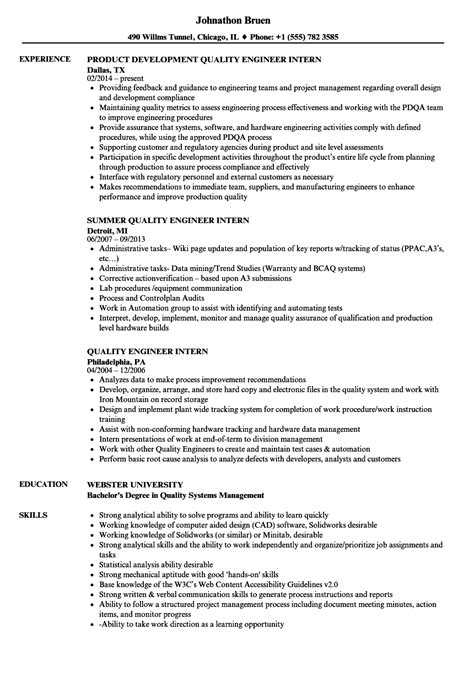 design quality engineer jobs sle cv quality engineer image collections certificate