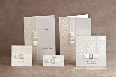 All Wedding Stationery by Accessorised For All Your Wedding Stationery And Favors