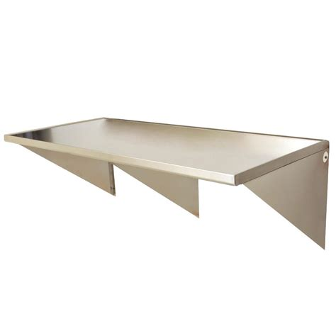 Wall Mounted Tables eagle wt3060sem 30 quot x 60 quot stainless steel wall