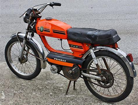 Peugeot Moped peugeot tsa orange moped