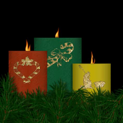 christmas candles animated images gifs pictures animations