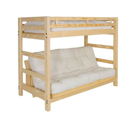 Futon Bunk Bed With Mattress Included Awesome Interior Futon Bunk Bed With Mattress Included With Regard To Your Property