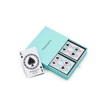 Where To Buy Tiffany Gift Card - tiffany co tiffany playing cards from tiffany co