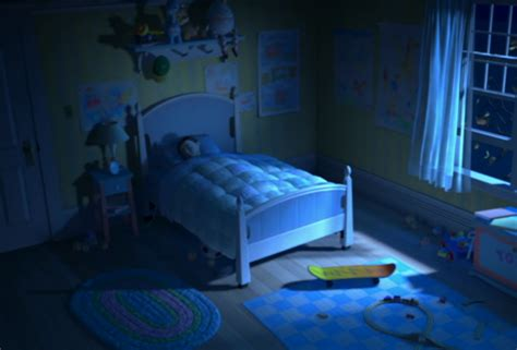 Monsters Inc Bedroom | were there self aware toys in monsters inc all along