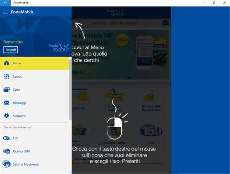 poste mobile assistenza applicazione postemobile su windows 10 assistenza pc napoli