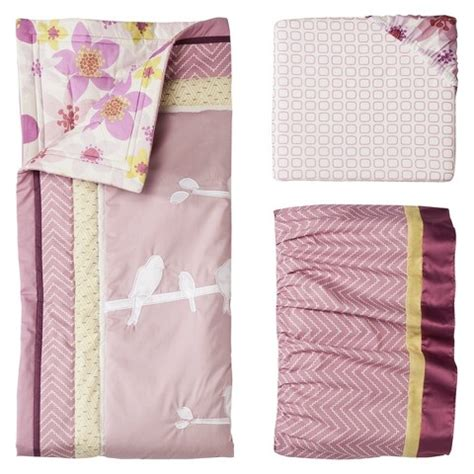 target baby girl bedding lambs ivy calliope 3pc baby girl bedding set target