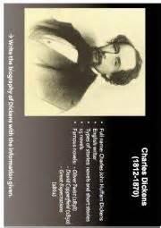 charles dickens biography lesson plan english worksheets biography of charles dickens