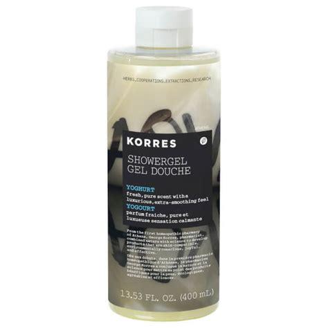 Korres Shower Gel by Korres Yoghurt Shower Gel Buy At Skincarerx