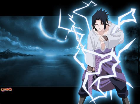 sasuke chidori wallpaper wallpapersafari