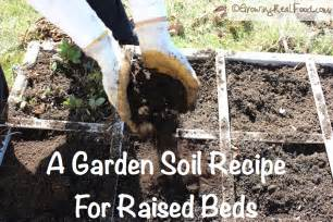 how to make garden soil for raised beds growing real food
