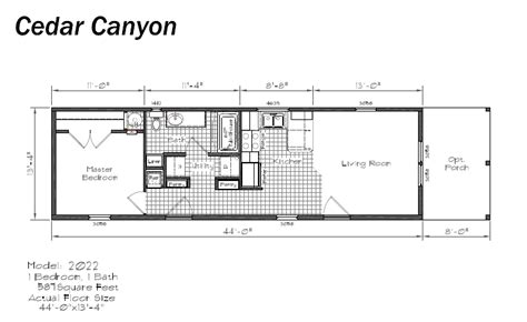 Floor Plans For Mobile Homes Single Wide by Single Wide Mobile Home Floor Plans Galleryhip Com The