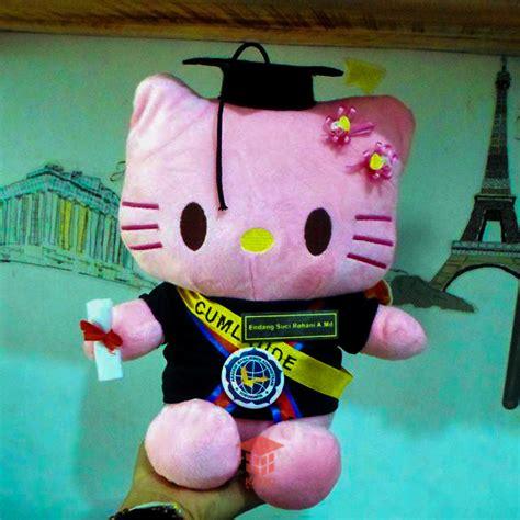 Boneka Wisuda Hellokitty Murah Grosir Kado Graduation boneka hello ama yogyakarta kado wisudaku