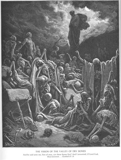 gustave dore bible gallery old testament ezekiel