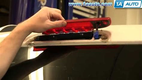 2010 ford taurus 3rd brake light how to install replace third 3rd high mount brake light