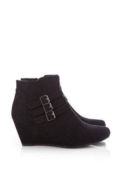 low heel wedge ankle boots boot yc