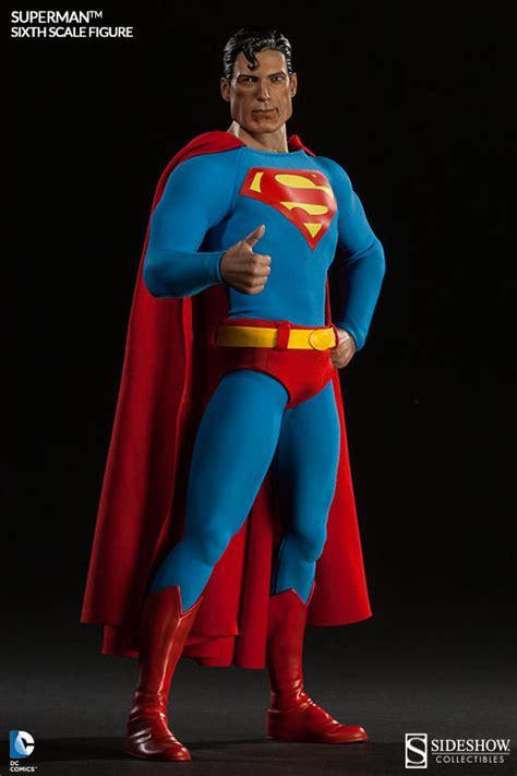 Mainan Figurin Superman Batman Worlds Finest Figure Isi 2 81507 sixth scale superman figure sideshow collectibles