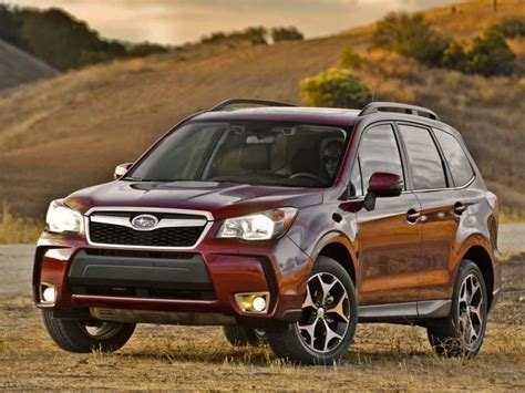 Subaru Forester 2014 Mpg by 10 Of The Best Awd Suvs For 2014 Autobytel