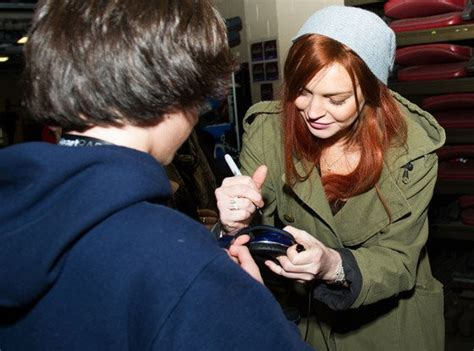 Lindsay Lohan Hangs Out With Jude At The Box by Lindsay Lohan Hangs Out With The Wanted S Max George