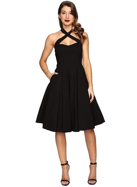 S Sleeveless A Line Dress s fashion halter sleeveless a line dress