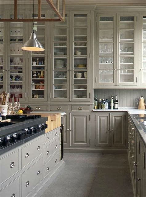 Ceiling Height Kitchen Cabinets Beautiful Kitchen With High Ceiling Height Gorgeous Glass Cabinets Kitchens And Pantrys