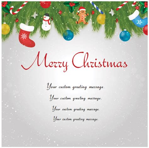 Christmas Card Templates Templates For Microsoft 174 Word Merry Word Template