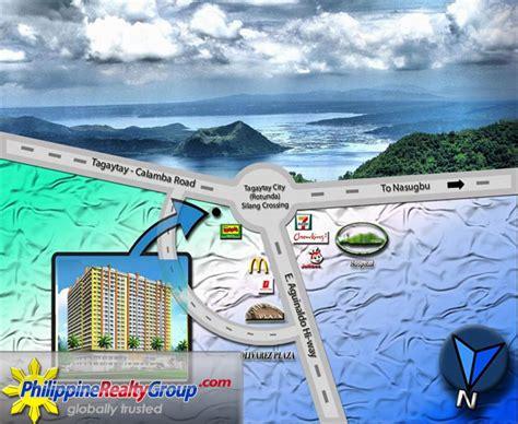 san jose tagaytay map tagaytay prime residences tagaytay cavite philippine