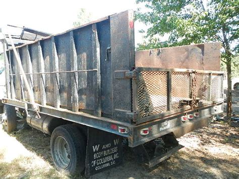dump truck bed manufacturers 12 foot debris dump body busbee s trucks and parts