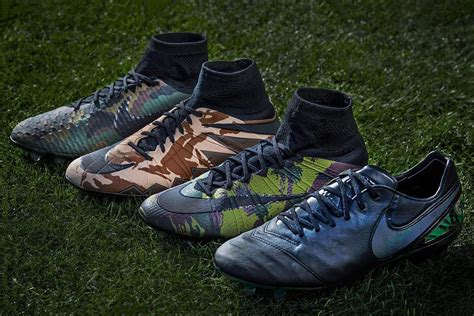 nike football shoes new release nike releases soccer cleat camo pack hypebeast