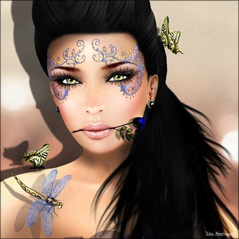 female face tattoo for for yusrablog