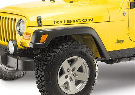 mopar jeep wrangler mopar 82208136 rubicon extended flares for 97 06 jeep