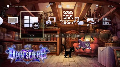 themes ps4 store odin sphere leifthrasir psn themes and ps4 avatars