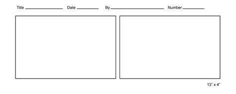 Printable Comic Strip Template Comic Template Maker