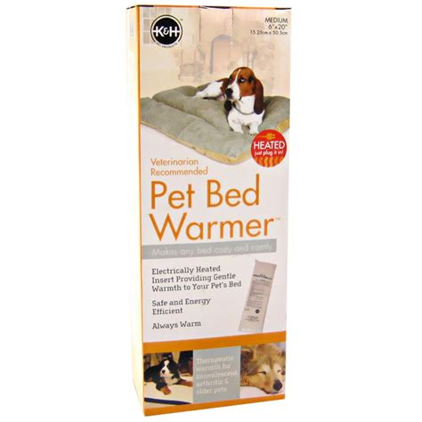 dog bed warmer k h pet bed warmer 6 quot x20 quot