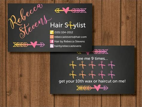 Hair Business Cards