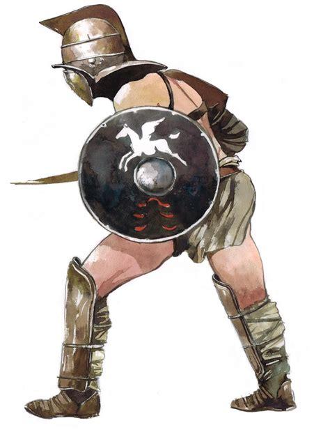 Gladiateurs L 233 Gionnaires Guerriers Celtes Amp Pirates Dessin De Gladiateur L