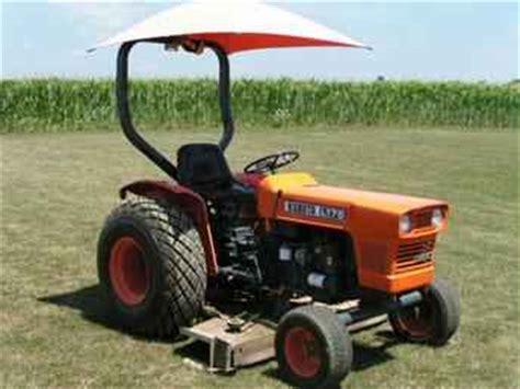 Used Farm Tractors For Sale Kubota L 175 Diesel 2005 11