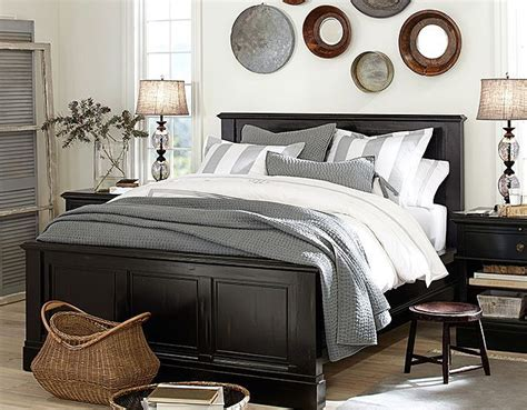 pottery barn bedroom furniture i this color scheme and look but for family room black gray and white w and black